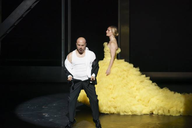 Gianluca Buratto & Lucy Crowe - Agrippina par Barrie Kosky