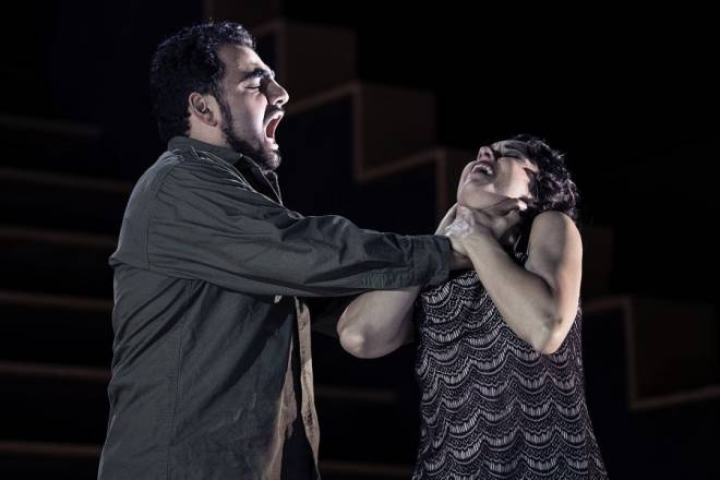 Migran Agadzhanyan & Michèle Losier - Carmen par Barrie Kosky