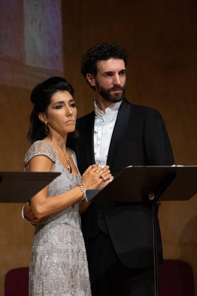 Paola Mazzoli et Guilhem Souyri dans Cléopâtre de Massenet