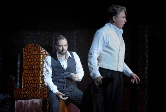 Étienne Dupuis & Roberto Alagna - Don Carlo par Krzysztof Warlikowski