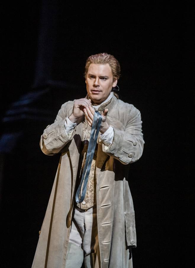 Benjamin Hulett - La Flûte enchantée par David McVicar