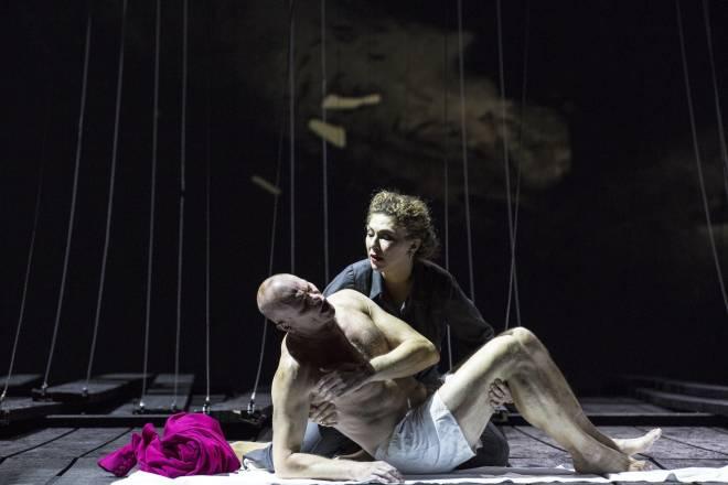 Bo Skovhus & Annette Dasch - Lear par Calixto Bieito