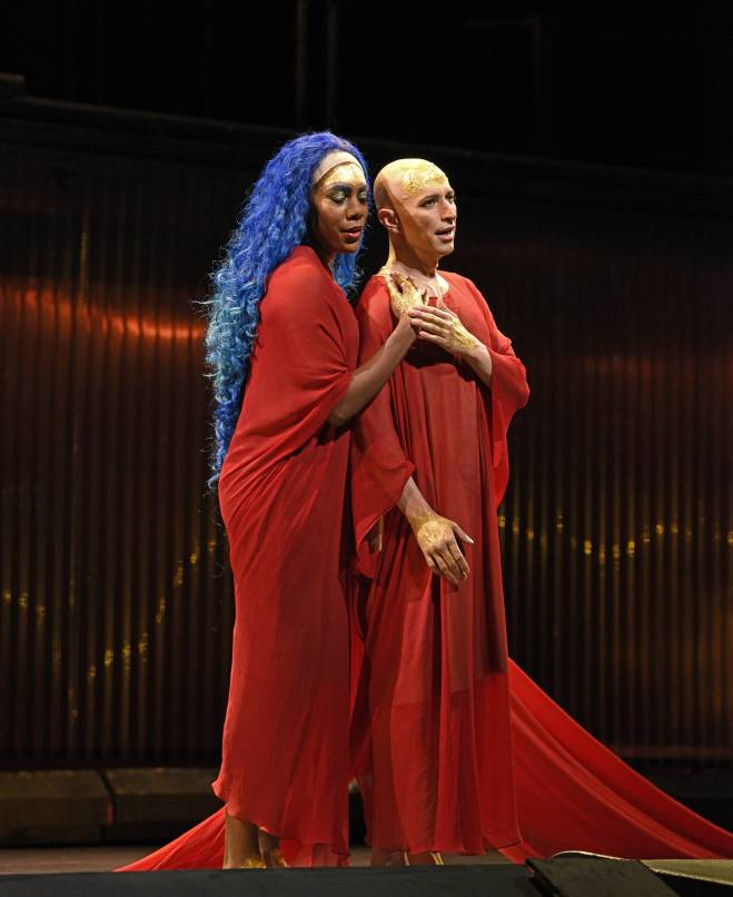 J'Nai Bridges & Anthony Roth Costanzo - Akhnaten par Phelim McDermott