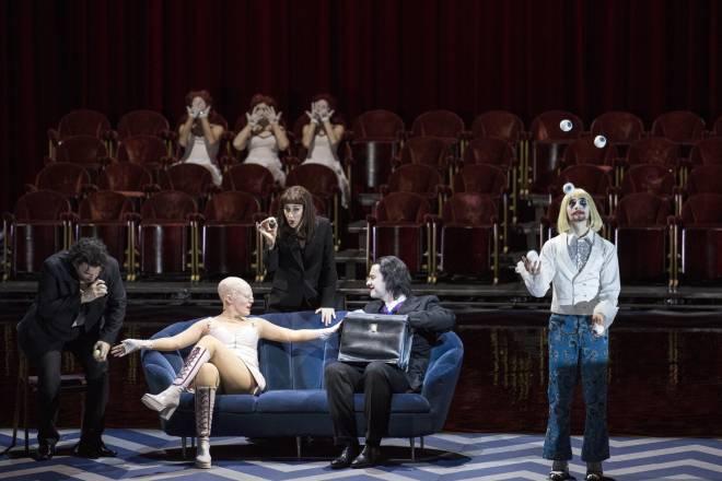 Enea Scala, Nicole Chevalier, Michèle Losier & Gabor Bretz - Les Contes d'Hoffmann par Krzysztof Warlikowski