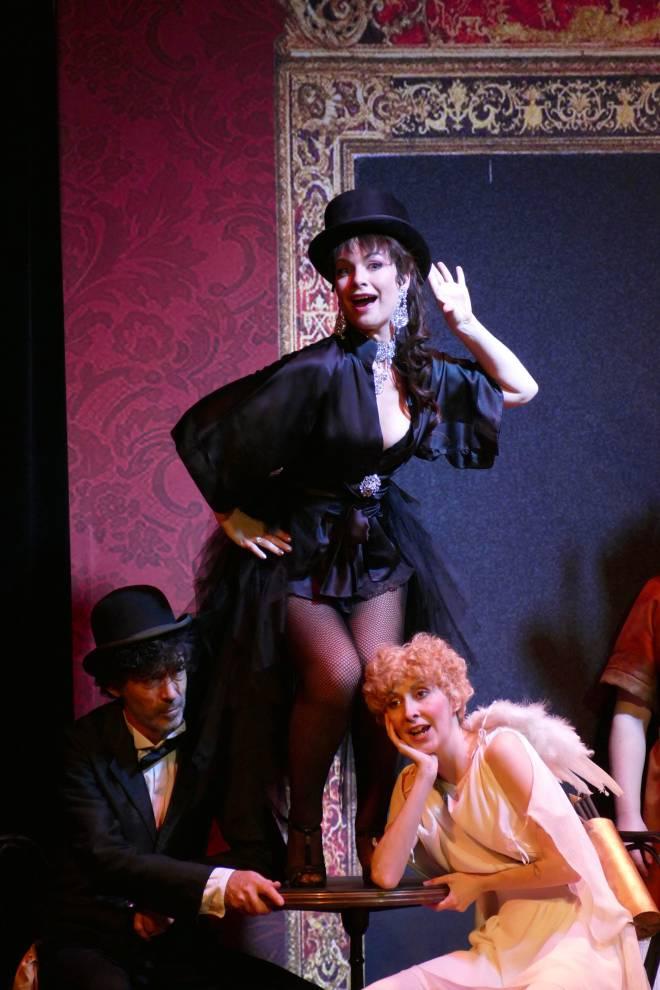Amélie Robins & Julie Morgane - Orphée aux Enfers par Nadine Duffaut
