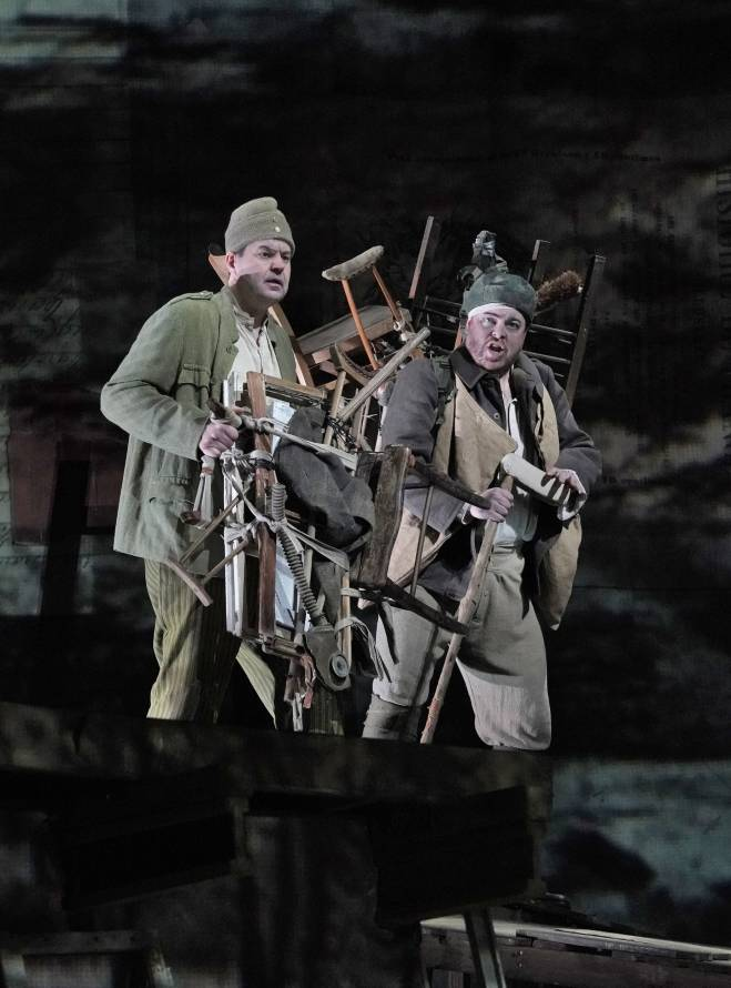 Wozzeck par William Kentridge