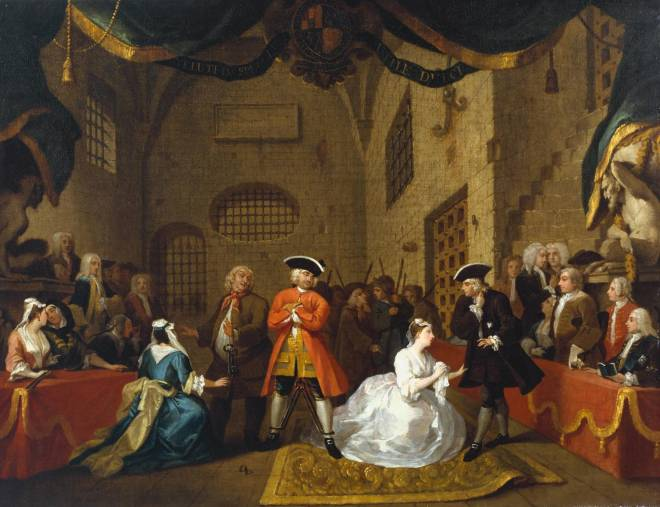 William Hogarth - The Beggar's Opera