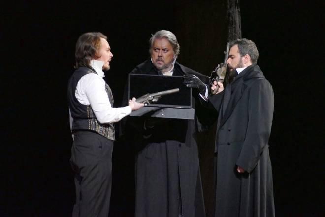 Thomas Bettinger, Jean-Marie Delpas & Régis Mengus - Eugène Onéguine par Alain Garichot