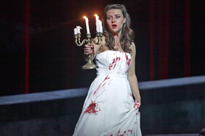 Venera Gimadieva en Lucia de Lammermoor