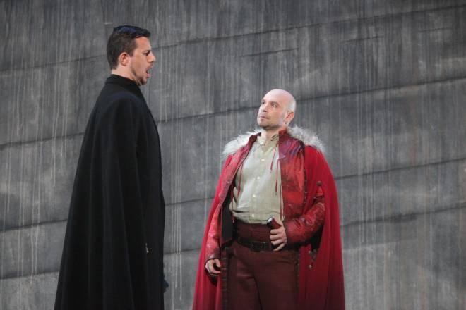 Vatchkov et Casari dans Lucia de Lammermoor
