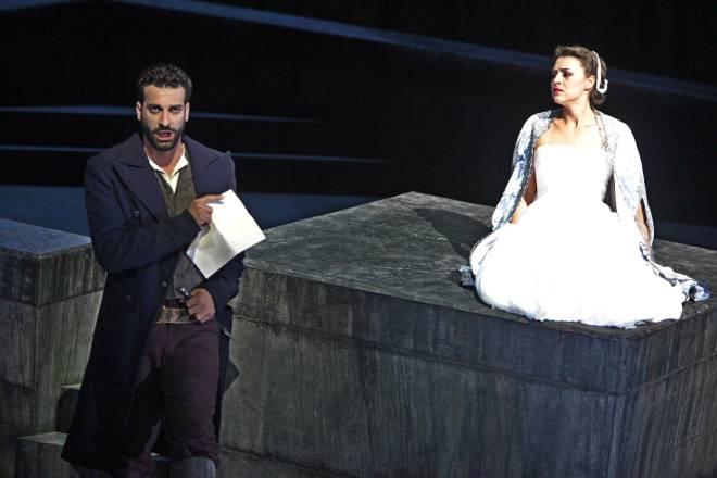 Gimadieva et Lahaj dans Lucia de Lammermoor