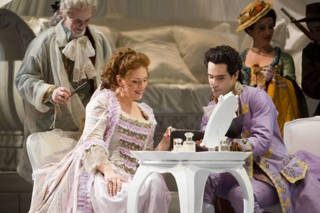 Martina Serafin et Ismael Jordi - Le Chevalier à la rose par Nicolas Joël