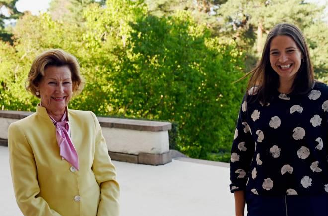 Reine Sonja et Lise Davidsen