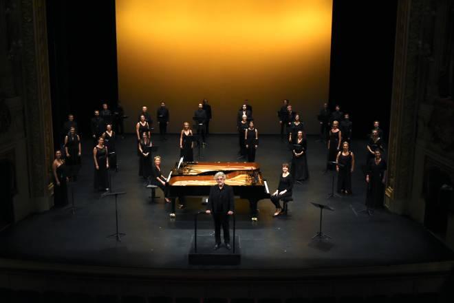 Un Requiem allemand, Choeur de Chambre Mélisme(s), Gildas Pungier