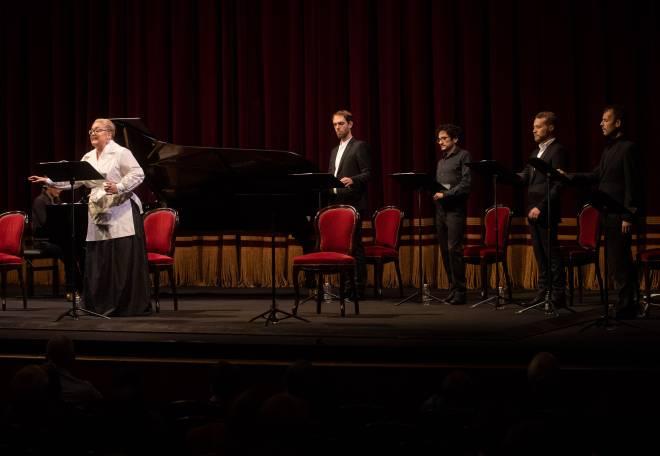 Catherine Hunold, Thomas Dolié, Mathias Vidal, Enguerrand de Hys, Marc Mauillon - Pénélope