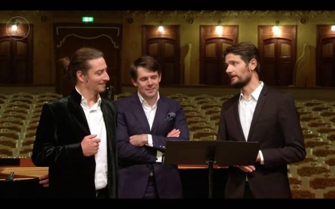 Jérôme Boutillier, Mathieu Pordoy, Julien Dran