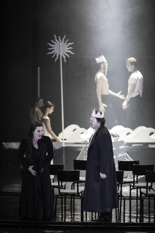 Anna Caterina Antonacci (Pénélope) et Marc Laho (Ulysse)