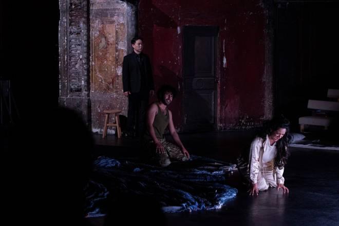 Kiup Lee, Timothée Varon et Ramya Roy - Le Viol de Lucrèce par Jeanne Candel