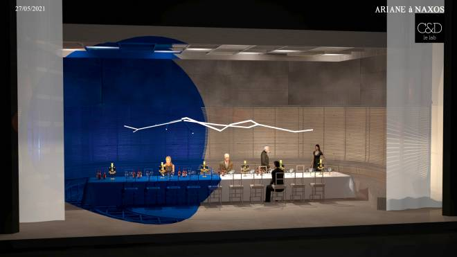 Ariane à Naxos par Jean-Phillipe Clarac & Olivier Deloeuil