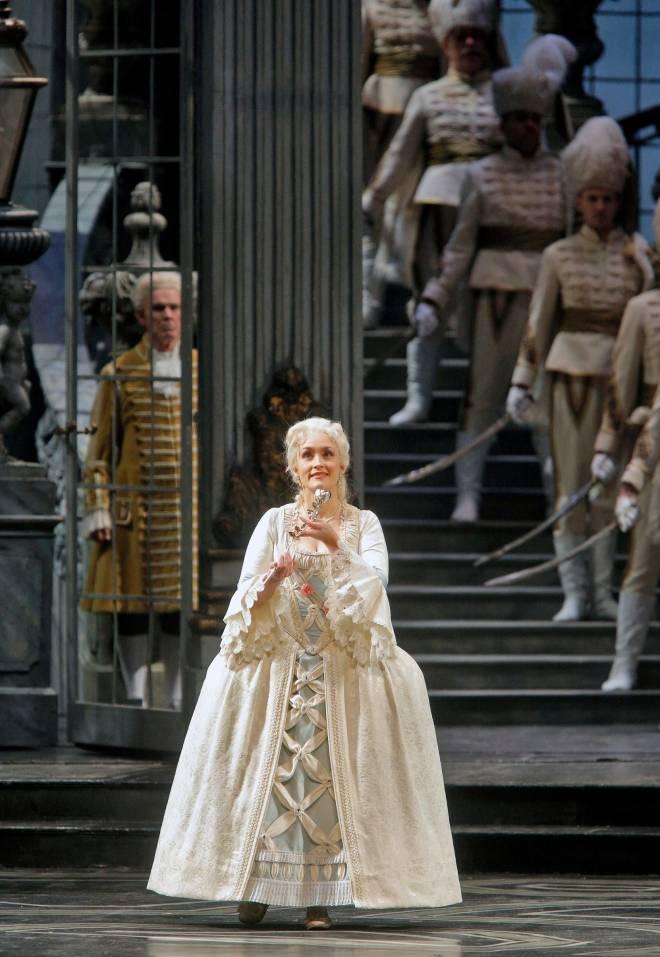 Erin Morley dans le Chevalier à la Rose au Met
