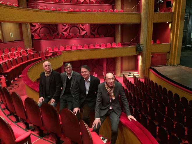 Paul-Emile Fourny, Serge Gaymard, Marc Clémeur et Laurent Spielmann