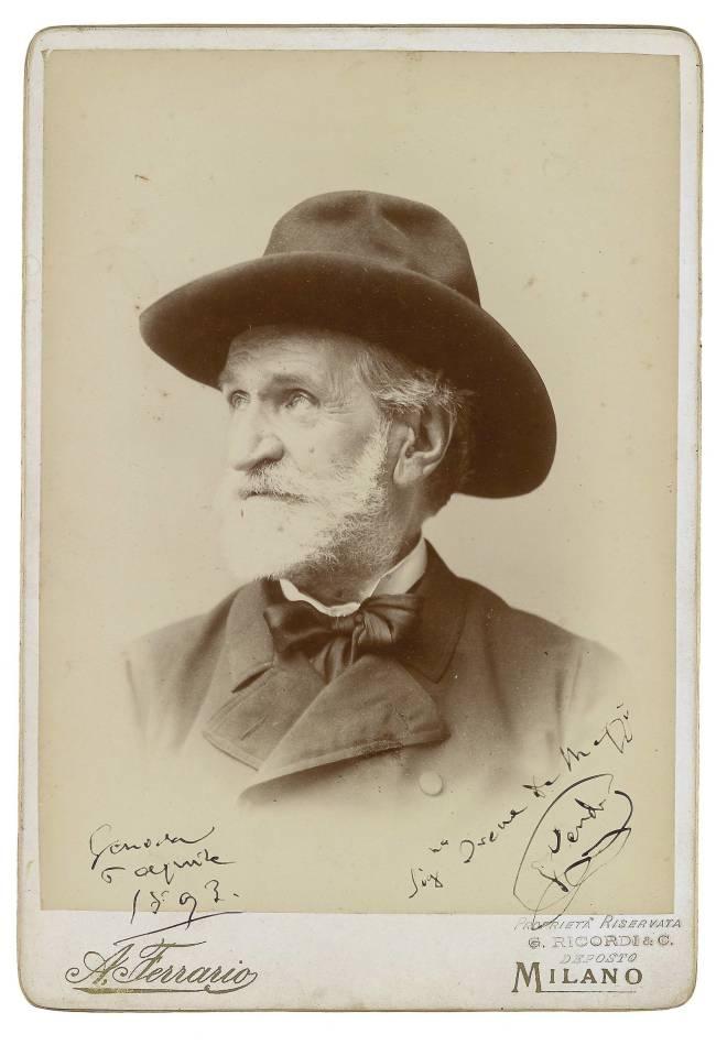 Photo de Giuseppe Verdi