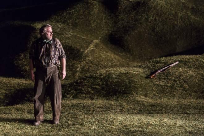Oliver Zwarg dans la Petite renarde rusée