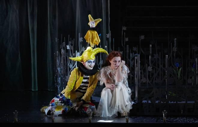 Marianne Crebassa et Marie-Eve Munger dans Fantasio