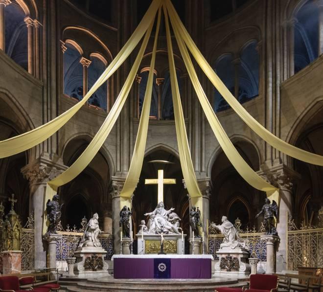Le maître-autel Notre-Dame de Paris