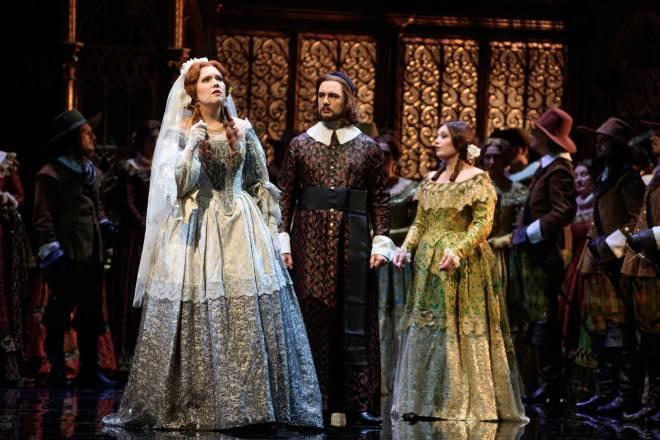 Nadine Koutcher, Maxim Kuzmin-Karavaev et Marion Lebègue - Lucia di Lammermoor par Nicolas Joel
