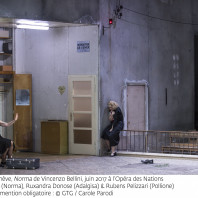 Norma, Alexandra Deshorties, Ruxandra Donose & Rubens Pelizzari