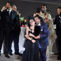 Amélie Robins et Celso Albelo - Rigoletto par Charles Roubaud