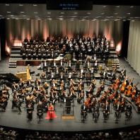 Orchestre et Chœur Opéra national Montpellier, Chœur de la Radio Lettone dans Siberia de Giordano