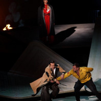 Gaëlle Arquez, Scott Hendricks et Daniel Johansson  - Carmen par Kasper Holten à Brégence