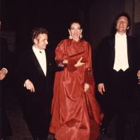 Jean-Pierre Cassel et Maria Callas