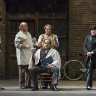 Thomas Dear (Pistola), Rodolphe Briand (Bardolfo), Franco Vassallo (Ford) et Graham Clark (Dottore Cajus) - Falstaff par Dominique Pitoiset