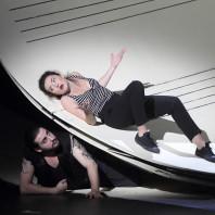 Florian Sempey (Figaro) et Stéphanie d'Oustrac (Rosine) - Le Barbier de Séville par Laurent Pelly