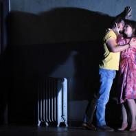 Gabriele Nani (Silvio), Simona Mihai (Nedda) - Paillasse par Damiano Michieletto