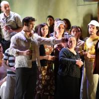 Teodor Ilincai (Turiddu), Dimitri Platanias (Alfio) - Cavalleria Rusticana par Damiano Michieletto