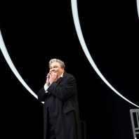 Gerhard Siegel (Hérode) - Salomé par Hans Neuenfels