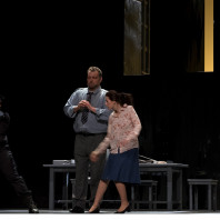 Claudia Iten (Léonore), Christian Hübner (Rocco) et Olivia Doray (Marcelline) - Fidelio par Philippe Miesch