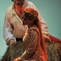 Sabine Devieilhe (Mélisande) et Alain Buet (Golaud) - Pelléas et Mélisande par Christian Schiaretti