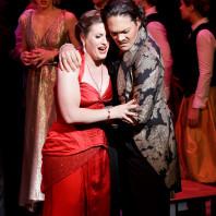 Katharine Dain (Constance) et Stéphane Mercoyrol (Selim Bassa) - L'Enlèvement au Sérail par Emmanuelle Cordoliani