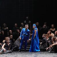 Enguerrand de Hys et Olivia Doray dans la Nonne sanglante