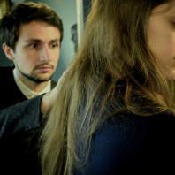 Anne-Marine Suire et Bastien Rimondi dans La Chute de la Maison Usher