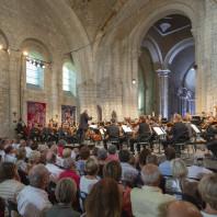 Philippe Herreweghe et l'Orchestre des Champs-Élysées à Saintes