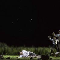 Olivia Vermeulen (Abele), Kristina Hammarström (Caino) - Il primo omicidio par Romeo Castellucci