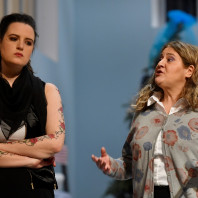 Eleonora Vacchi (Rachel) et Milena Storti (Blanche) - 7 Minuti