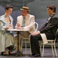 Charlotte Bonnet, Antoine Bonelli & Grégory Benchenafi - L'Auberge du Cheval Blanc par Jack Gervais