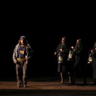 Florian Sempey, Chiara Skerath, Julie Robard-Gendre et Élodie Méchain - La Flûte enchantée par Robert Carsen